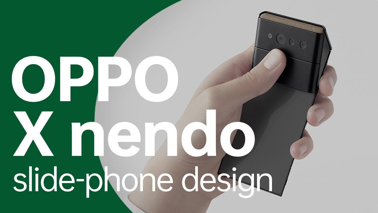 OPPO x nendo _ Slide-phone