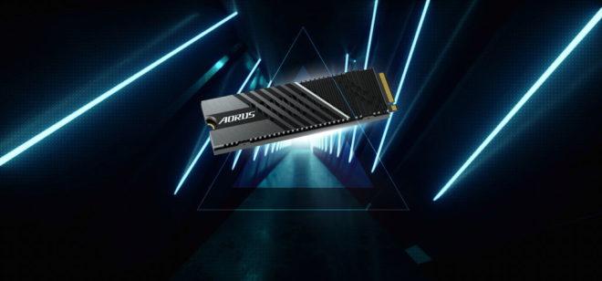 AORUS Gen4 7000s SSD banner