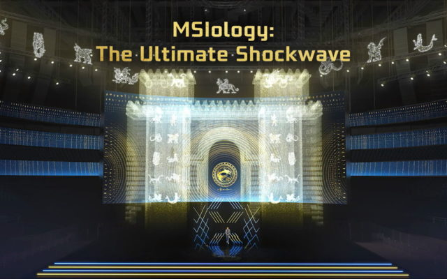 MSI MSIology Virtual Event Stage