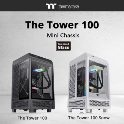 Thermaltake Introduces The Tower 100 Mini Chassis