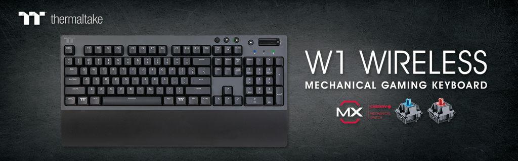 Thermaltake W1 WIRELESS Mechanical Gaming Keyboard_2